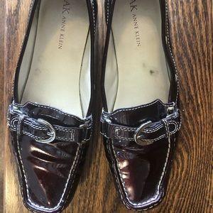 BOGO☺️ Anne Klein purple loafers